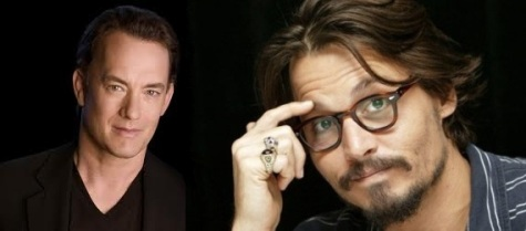 Tom Hanks und Johnny Depp