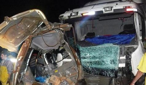 Unfall auf der Ruta 7 (Abc)