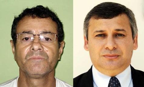 Da Silva (links) und Néstor Suarez (rechts) (Abc)