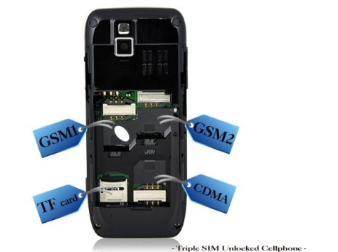 Handy mit drei SIM Karten