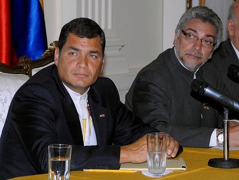 Rafael Correa und Fernando Lugo