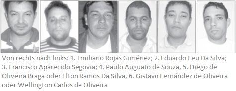 Die sechs Flüchtigen aus dem Gefängnis (Wochenblatt)