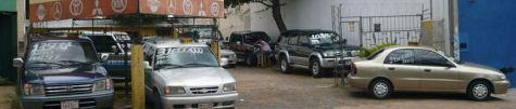 Autoverkaufsplatz in Asunción