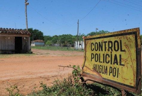 Polizeikontrollpunkt in Concepción (UH)