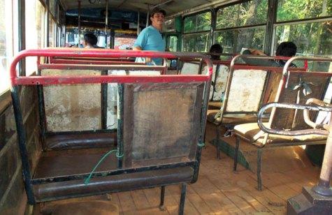 Bus der Linie Mburucuya (UH)