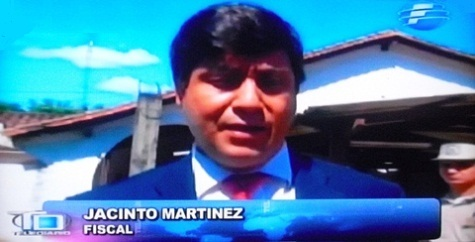 Staatsanwalt Jacinto Martínez (Telefuturo)