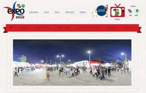 Expo Webseite