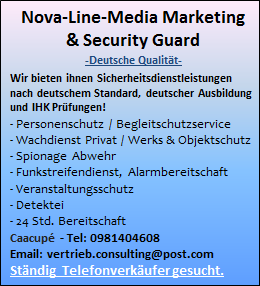 Nova-Line-Media Marketing & Security Guard