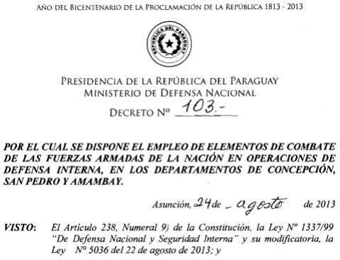 Dekret 103