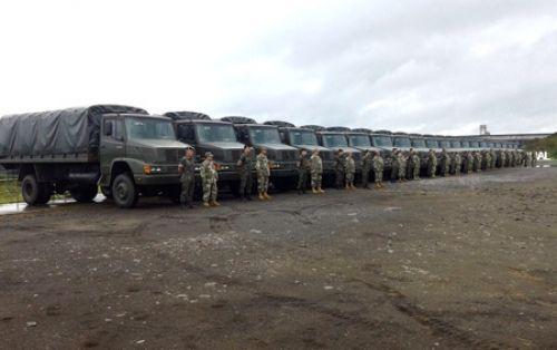 Militär LKW