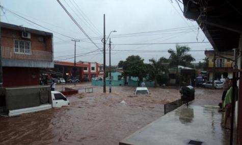 Die Stromschnellen von Asunción