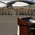 Lugo verabschiedet Soldaten die nach Haiti aufbrechen