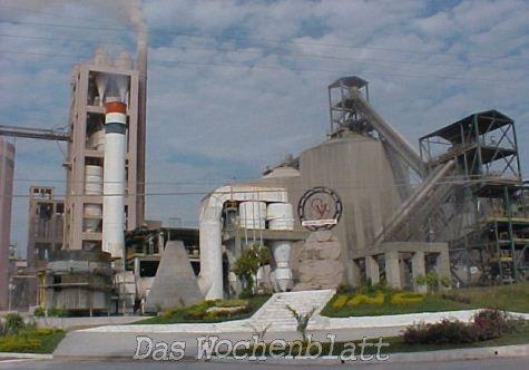 Lugo ordnet rigorose Kontrolle von Produktion und Verkauf in der staatlichen Zementfabrik an