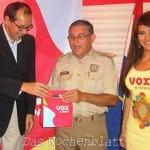 Copaco-Vox übergibt heute 23.000 Mobiltelefone samt Simkarten an die Nationalpolizei