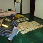 Anti-Drogenpolizei beschlagnahmt 58 Kg Kokain in Pedro Juan Caballero
