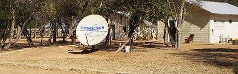 Tesacom Anlage im auf dem Land