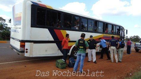 Busse – eine neue Transportmethode für Drogen durchs Inland