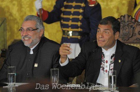 """Lugo """"schießt"""" wieder gegen die USA"""