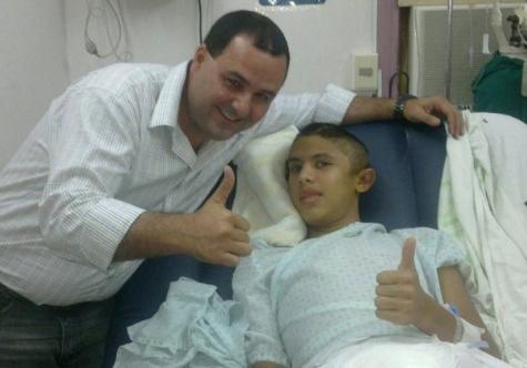 Die Entlassung von Gabriel Franco aus dem Krankenhaus – das Wunder zur Osterzeit