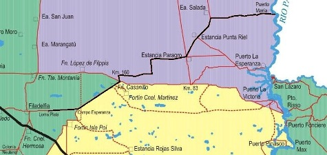 Alsphaltprojekt im Chaco