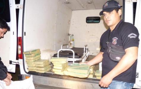 Marihuana wurde in einem staatlichen Krankenwagen transportiert