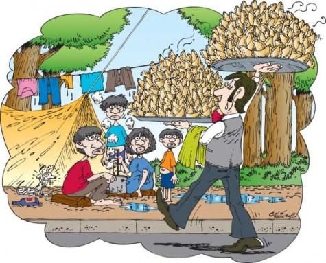 Warum die Indigenen ständig nach Asunción kommen
