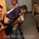 Mörder von María Belén sagte heute aus und geht erneut hinter Gitter