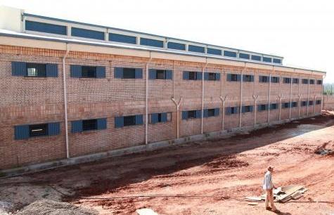 Gefängisbau in San Juan Bautista (Abc)