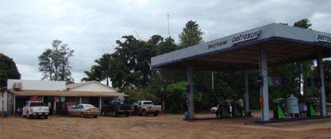 Petrosur Tankstelle in Rio Verde