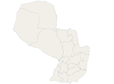 Karte Paraguays