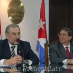 Kubanischer Außenminister dankte für die Unterstützung