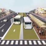 Metrobus für Fernando de la Mora und San Lorenzo