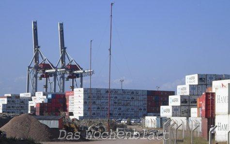 140 paraguayische Container bleiben wegen MKS in den Häfen von Montevideo und Buenos Aires