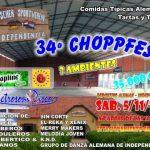 Das 34. Choppfest in Independencia lädt ein