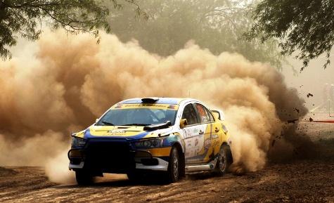 Luis Ortega gewinnt zum ersten Mal die Transchaco Rallye