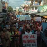 Mehr Protest aus der Bevölkerung gegen den Metrobus