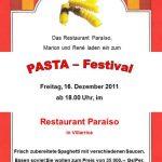 Pasta Festival in Villarrica