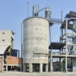 Private Zementfabrik ist in Betrieb