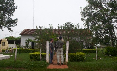 Abraham Cué Eingang (CVJ)