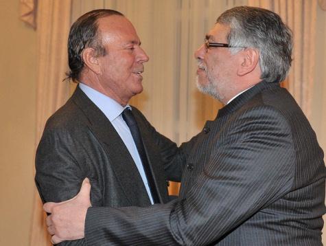 Julio Iglesias und Fernando Lugo (Flickr)