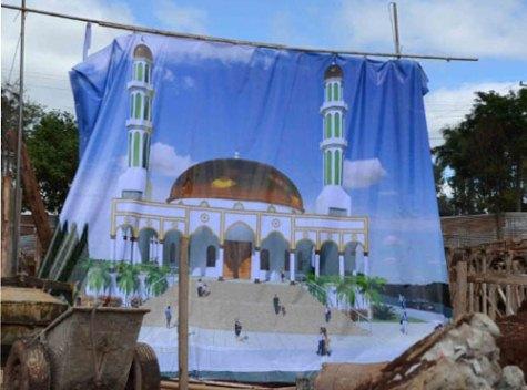 Moschee in CDE (Última Hora)