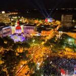 Fernando Lugo eröffnet Unabhängigkeitsfeier Nummer 201