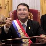 Freimaurer Symbole waren bei Francos Amtseid präsent