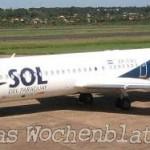 """Fluggesellschaft """"Sol del Paraguay"""" stellt ihren Dienst ein"""