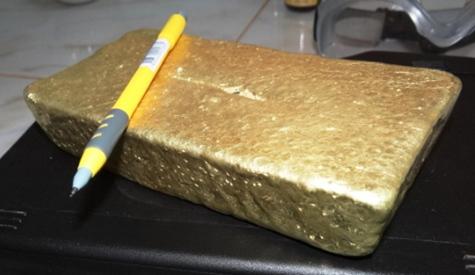 Erster Goldbarren aus Paraguay (LAM)