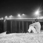 Freundschaftsbrücke nach 5 Jahren wieder mit Beleuchtung