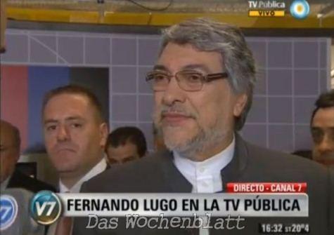 """Fernando Lugo: """"Neue Paradigmen die Putsche in Lateinamerika hervorrufen"""""""