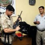 Franzose mit Kriegswaffen in Pirayú verhaftet