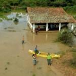Paraguayischer Chaco: In einer Woche vom Wasser umgeben