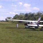 Drogenflugzeug in Nueva Germania beschlagnahmt